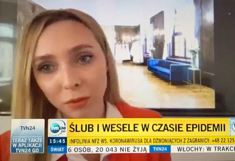 Projektantka mody Karolina Seeger w tvn24